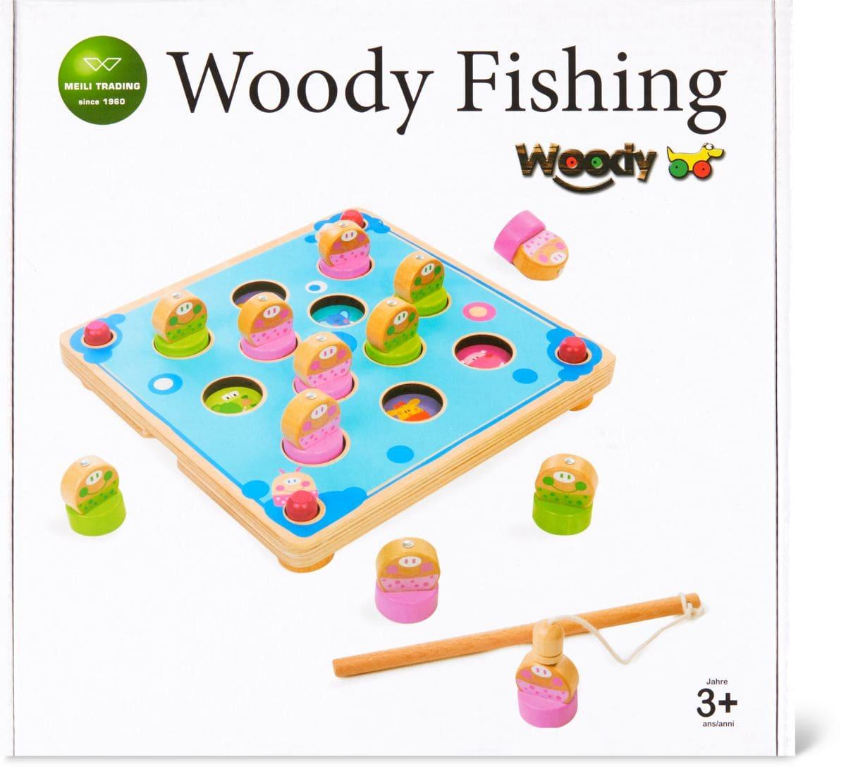 Woody Memory Fishing Game Gesellschaftsspiel