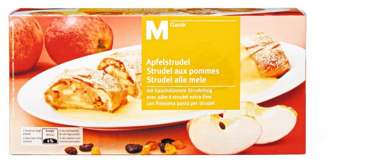 M-Classic Strudel aux pommes