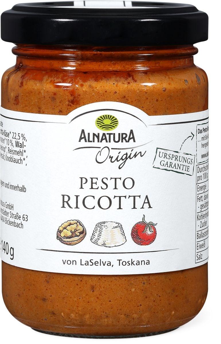 Alnatura origin Pesto ricotta