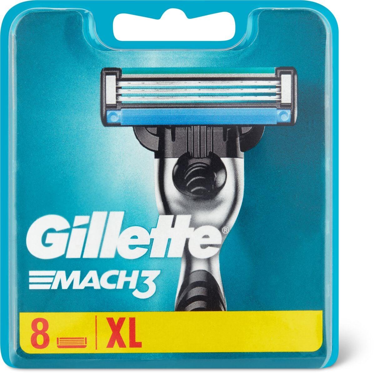 Gillette Mach3 Ersatzklingen