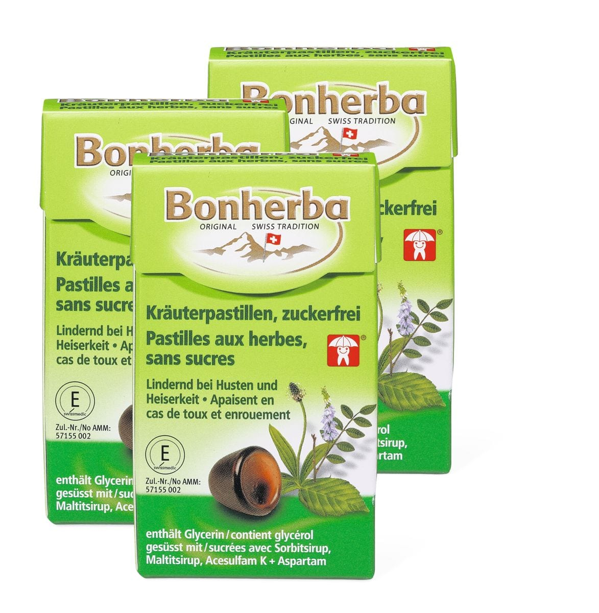 Bonherba pastiglia alla erba senza zucc