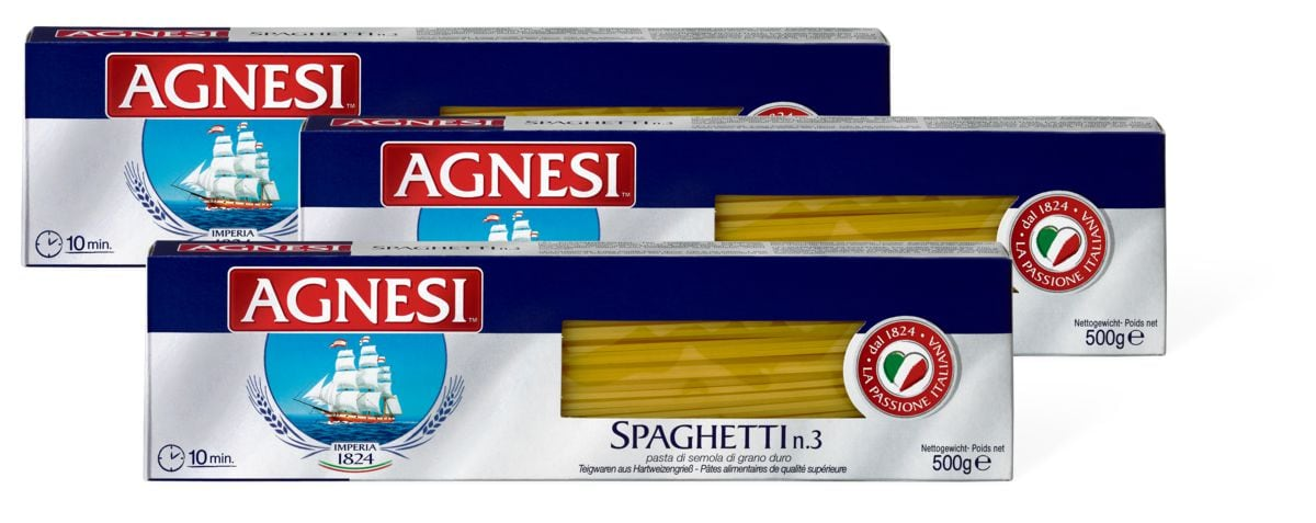 Agnesi Spaghetti im 3er-Pack