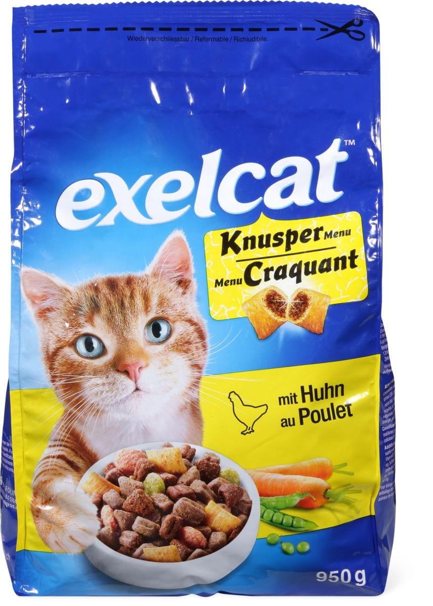 Exelcat Knusper Menu mit Huhn
