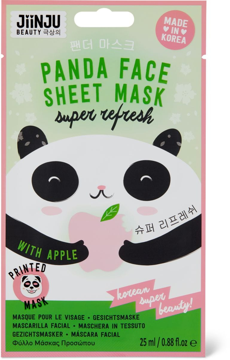 Jiinju Panda Sheet Mask