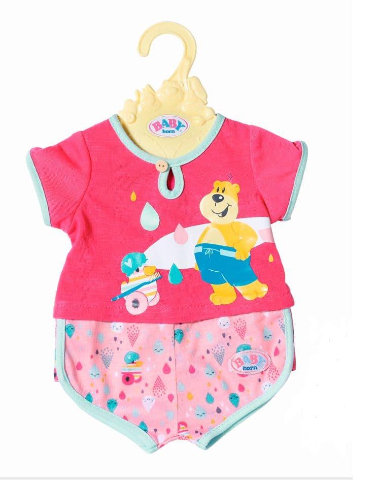Zapf Creation Baby Born Bath Pyjamas Bambole accessori
