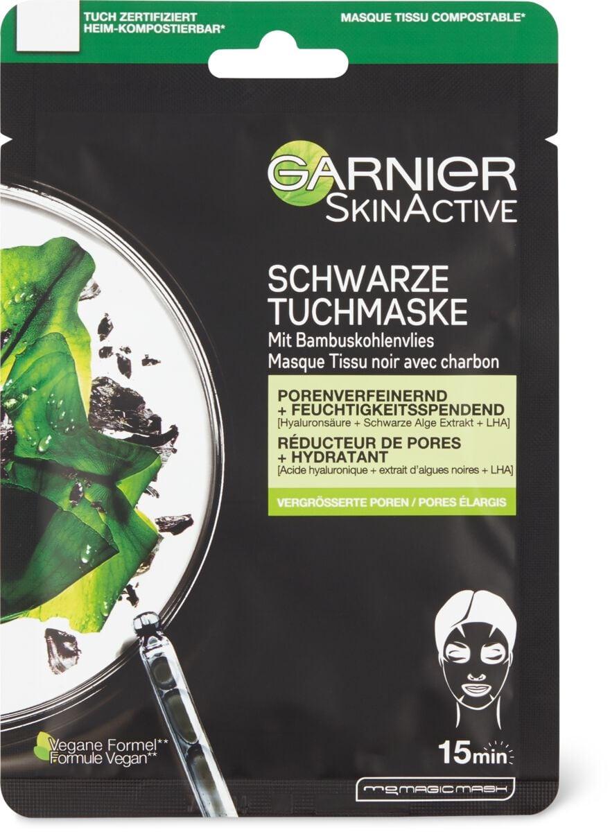 Garnier Maske Black Sheet