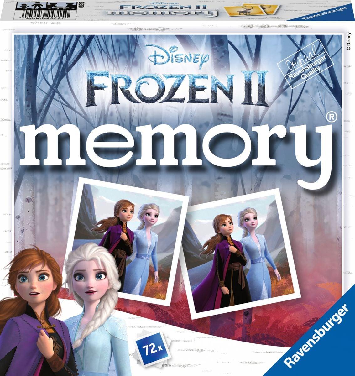 Ravensburger RVB Frozen 2 Memory Gesellschaftsspiel
