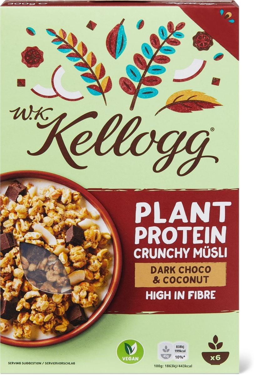 W.K. Kellogg Protein Dark Choco & Coconut