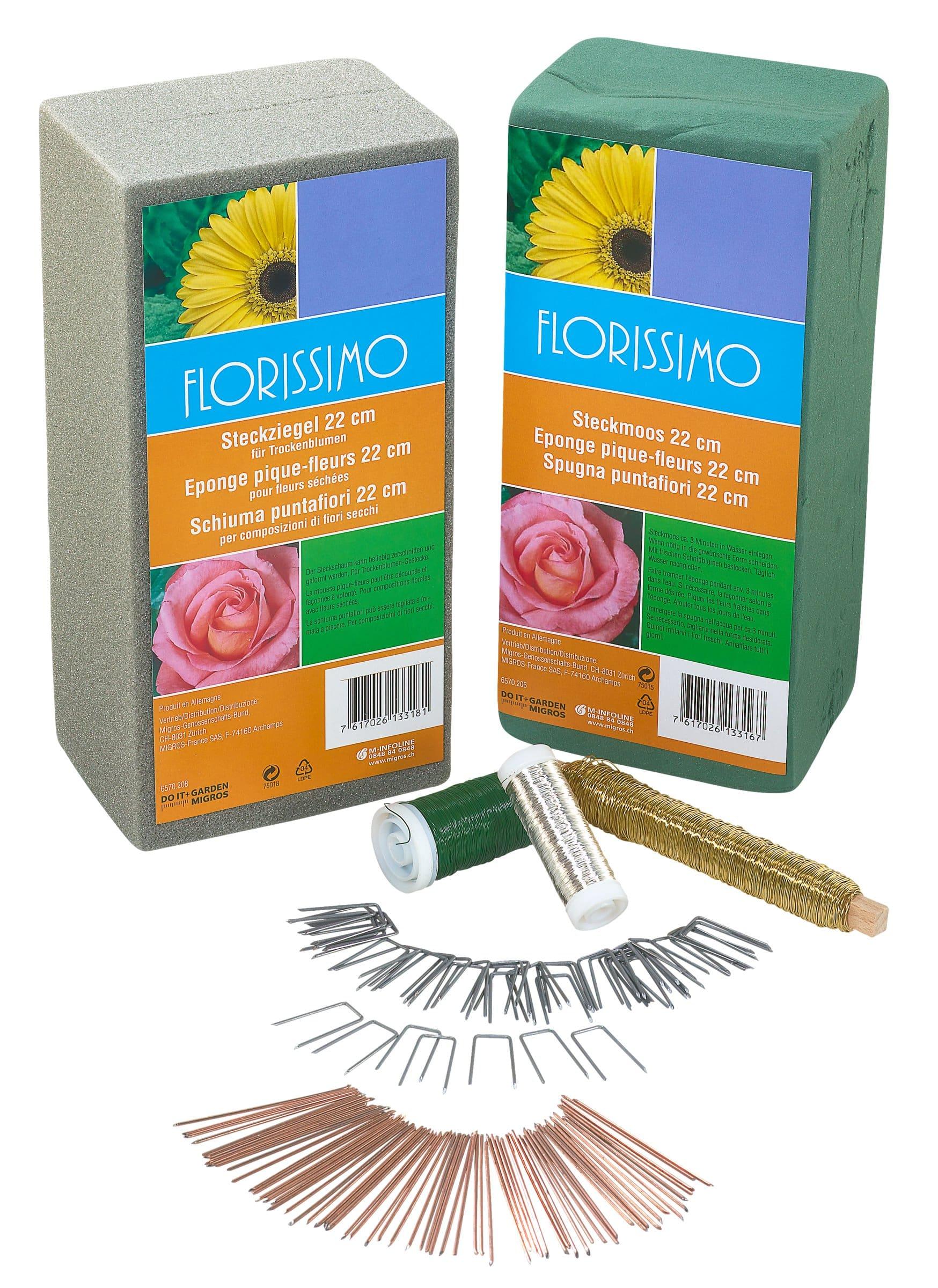Ou Acheter De La Mousse Pour Piquer Des Fleurs do it + garden agrafes
