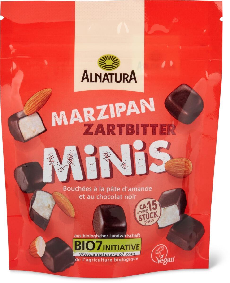 Alnatura Marzipan Minis Zartbitter