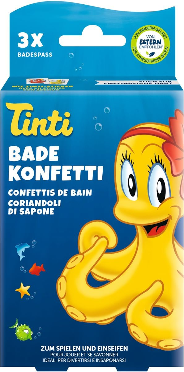Confettis de bain set à 3pcs.