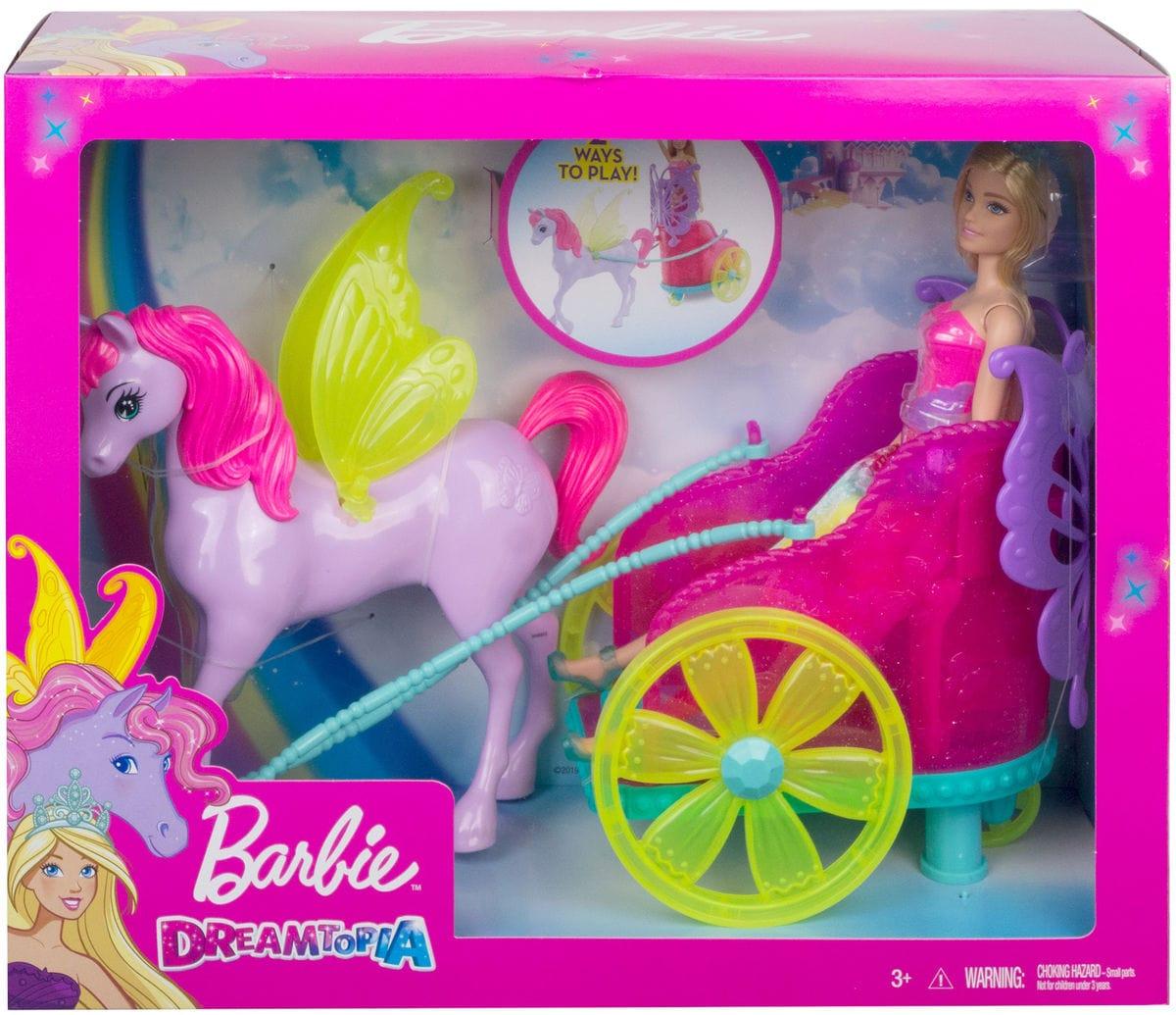 Barbie GJK53 Dreamtopia Pegasus Puppenset