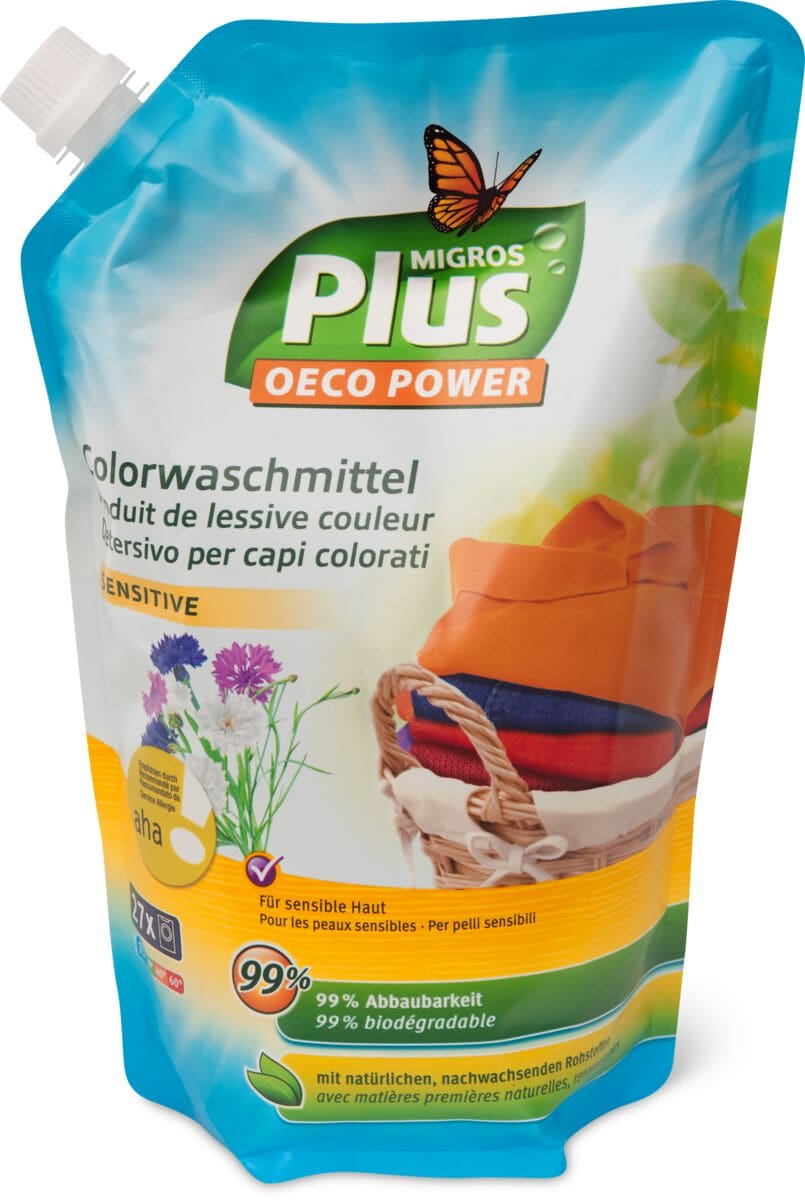M-Plus Colorwaschmittel