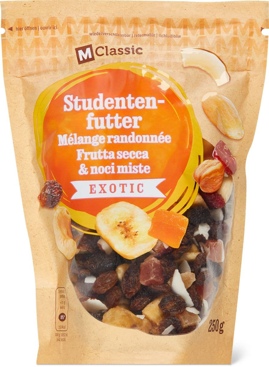 M-Classic Studentenfutter exotic