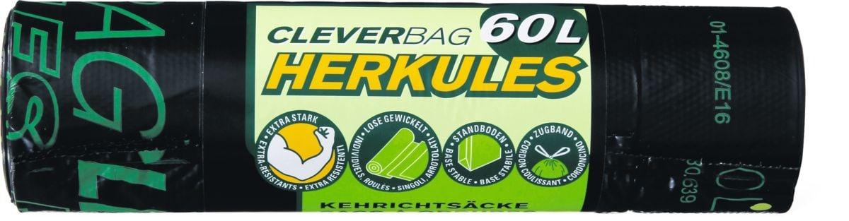 Sacchi per rifiuti Herkules Cleverbag 60 l