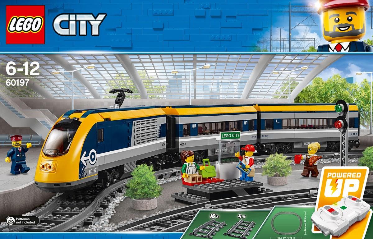 Lego City Le train de passagers 6019