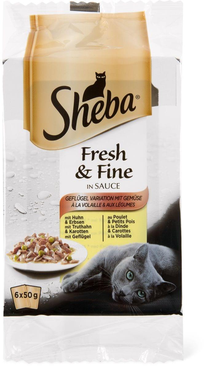 Sheba Fresh&Fine Salsa pollame&verdur