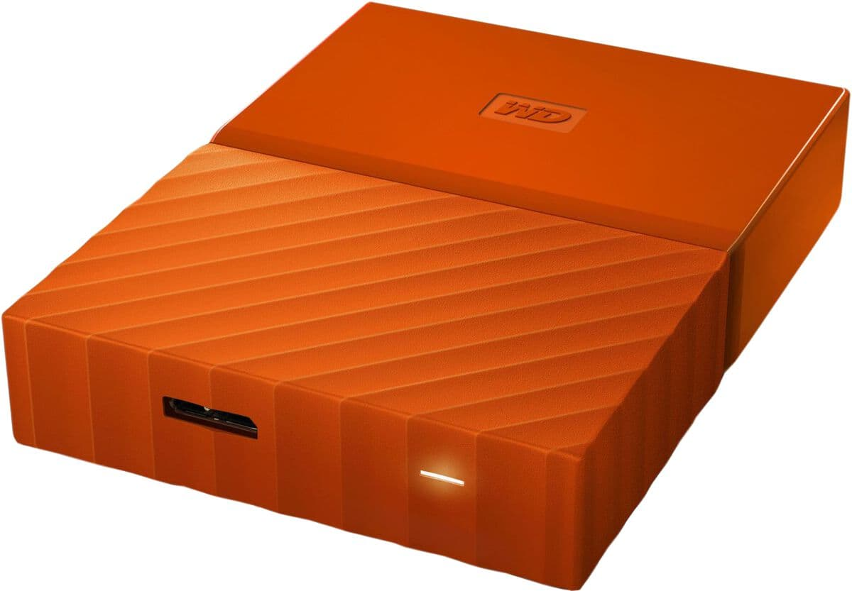 Western Digital My Passport portable 2 TB 2.5''  Externe Festplatte