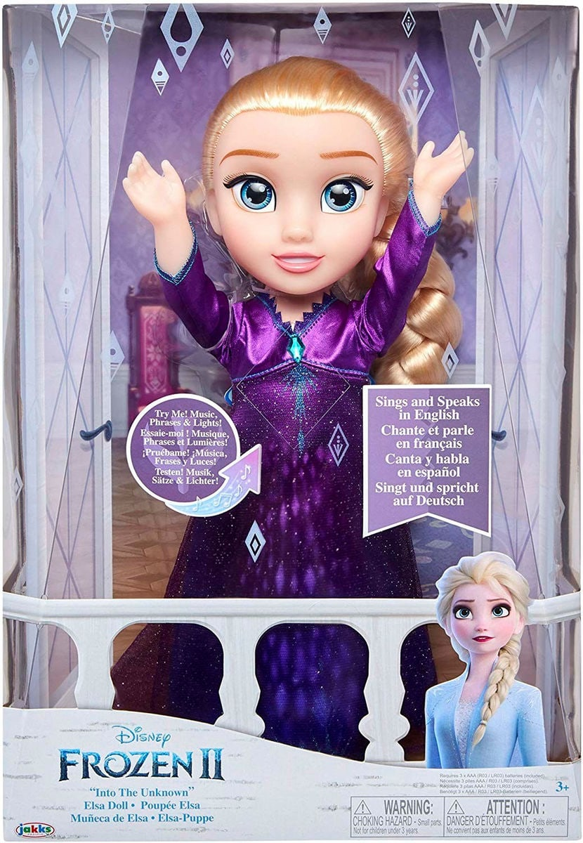 Disney Frozen 2 Feature Doll Elsa Puppe