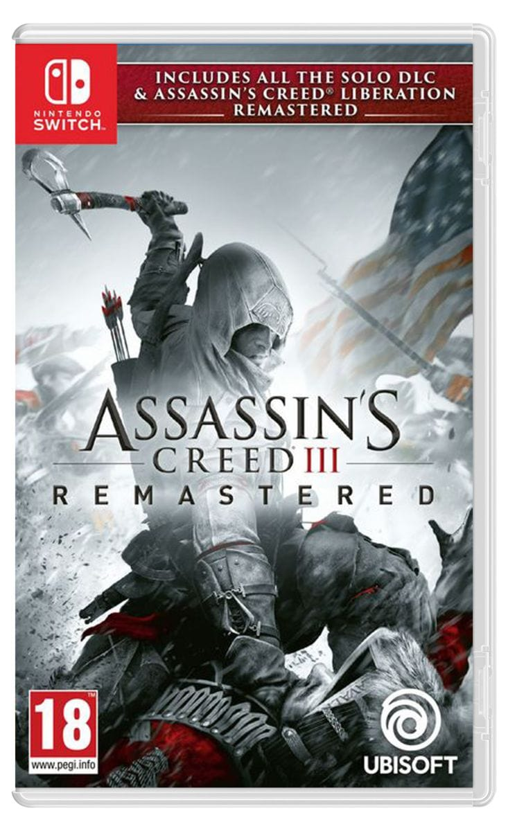 NSW - Assassin's Creed 3 - Remastered Box