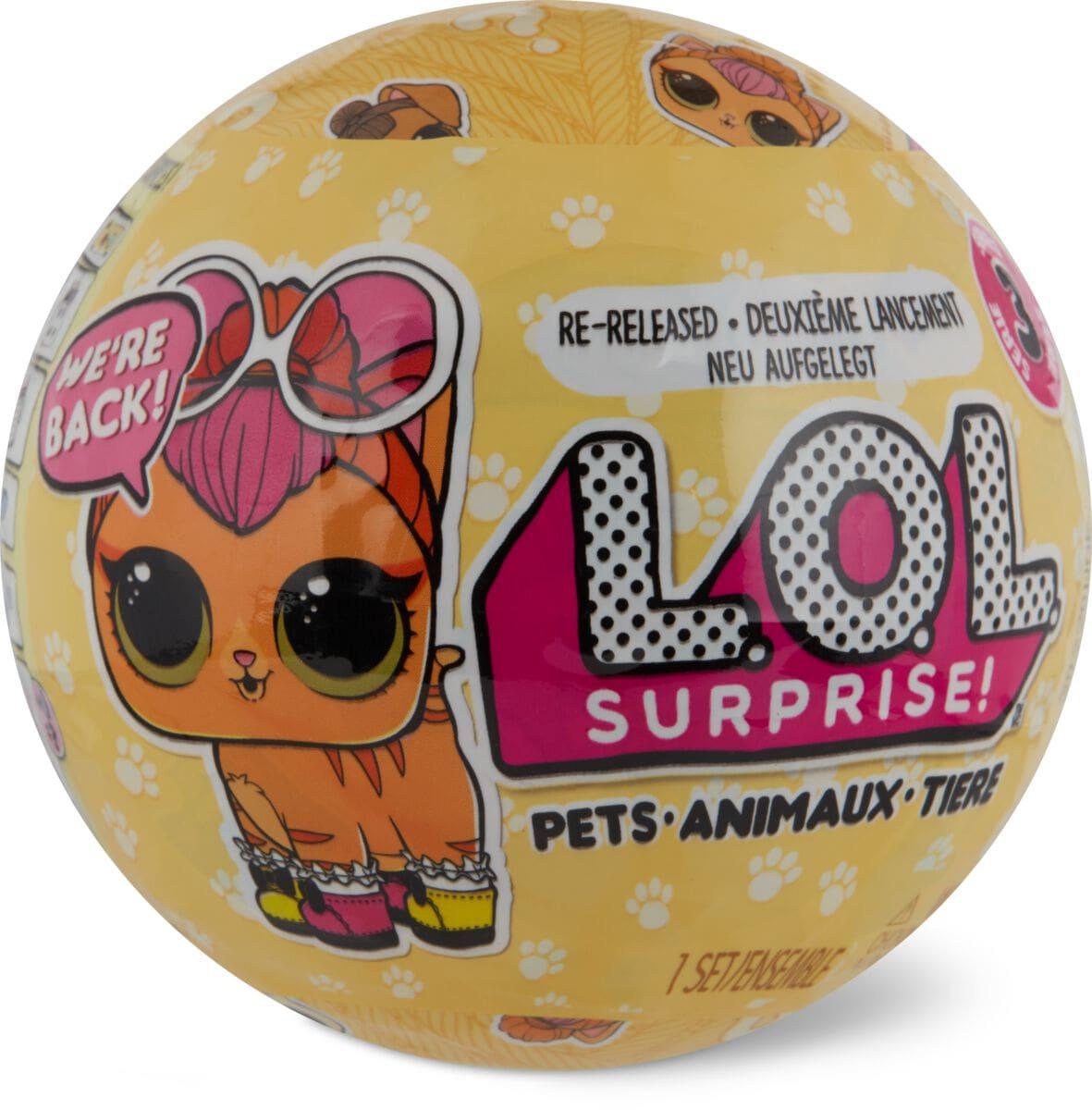 L.O.L. Surprise Pets Surprise Puppe