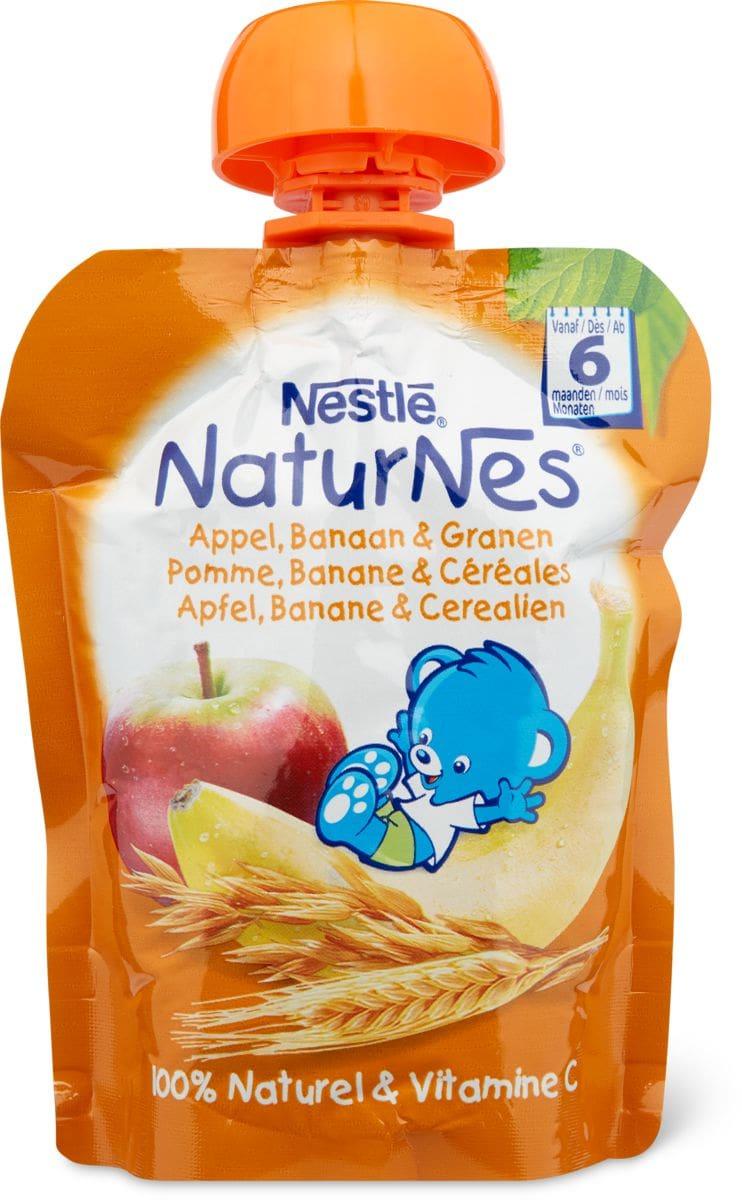Nestlé NaturNes Quetschbeutel Apfel, Banane Cerealien