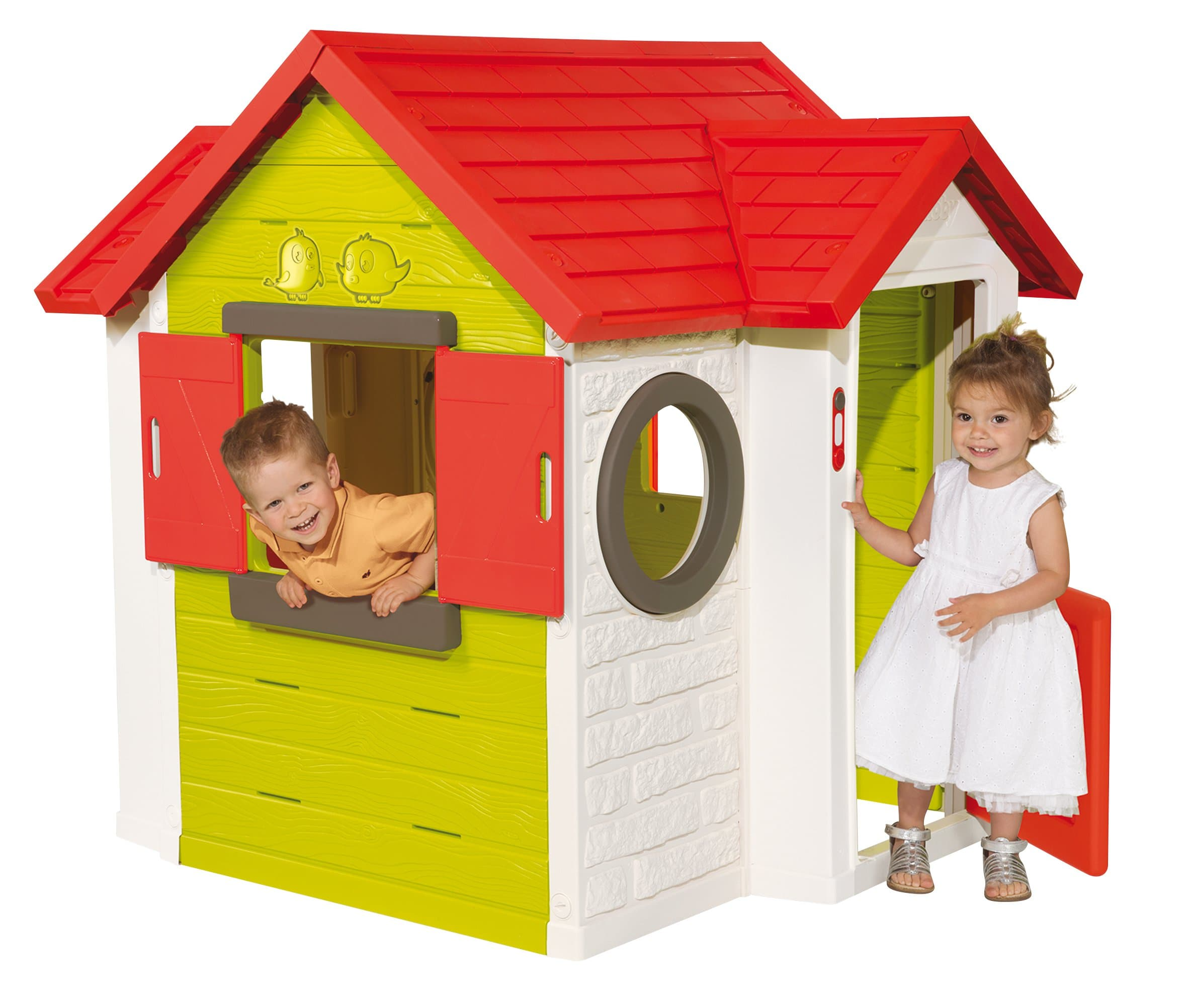 smoby spielhaus mein haus migros. Black Bedroom Furniture Sets. Home Design Ideas