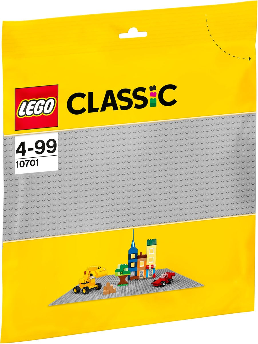 LEGO® Classic Graue Grundplatte 10701