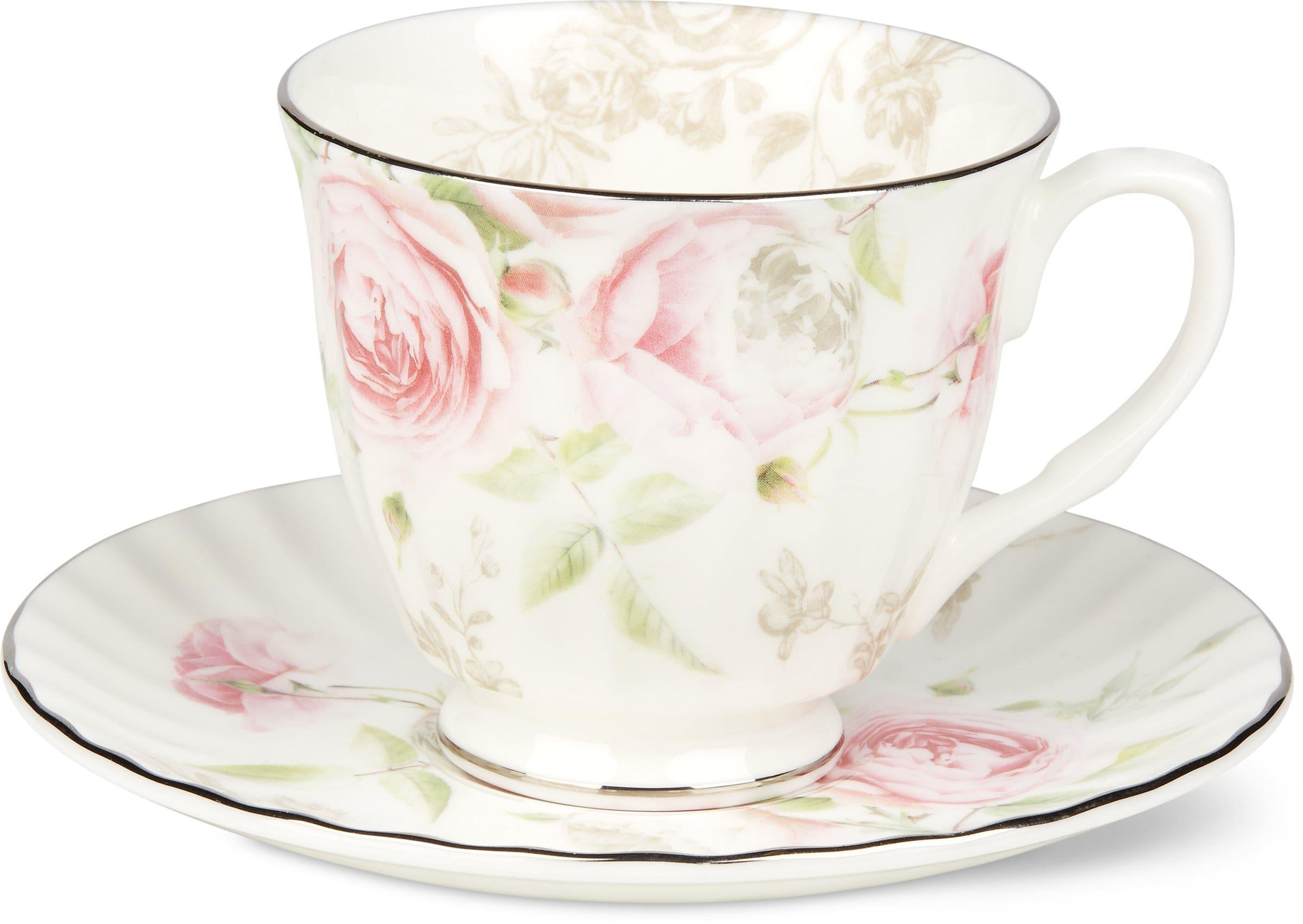 tasse a caf avec sous tasse blossom migros. Black Bedroom Furniture Sets. Home Design Ideas