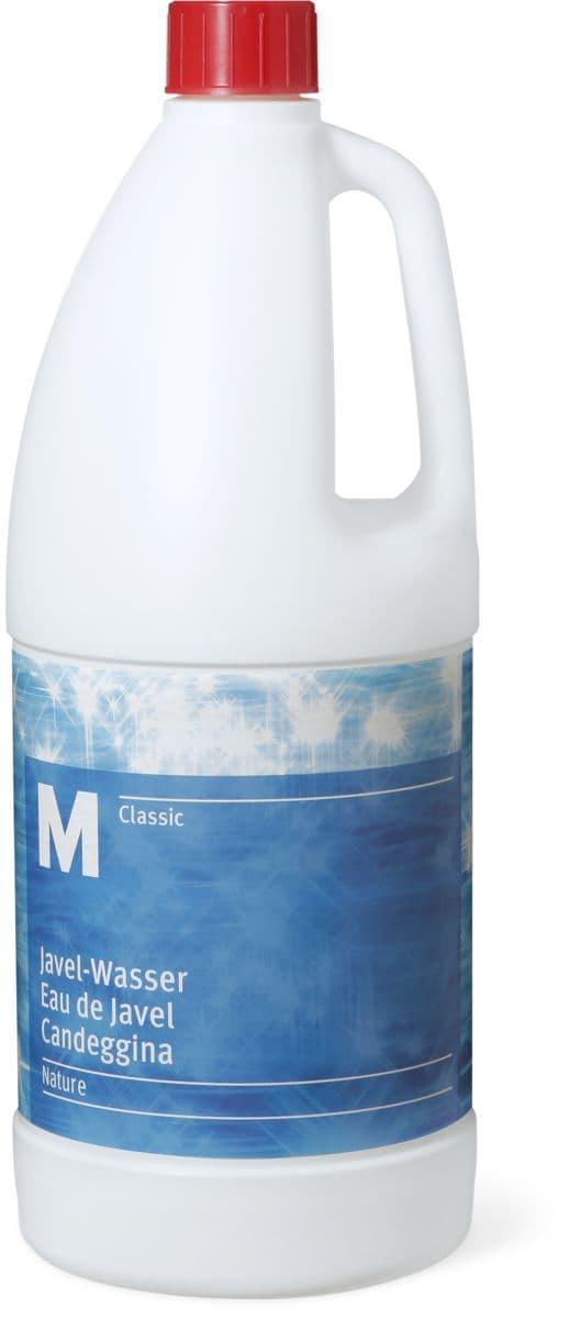 M classic javel wasser natur migros for Mousse eau de javel