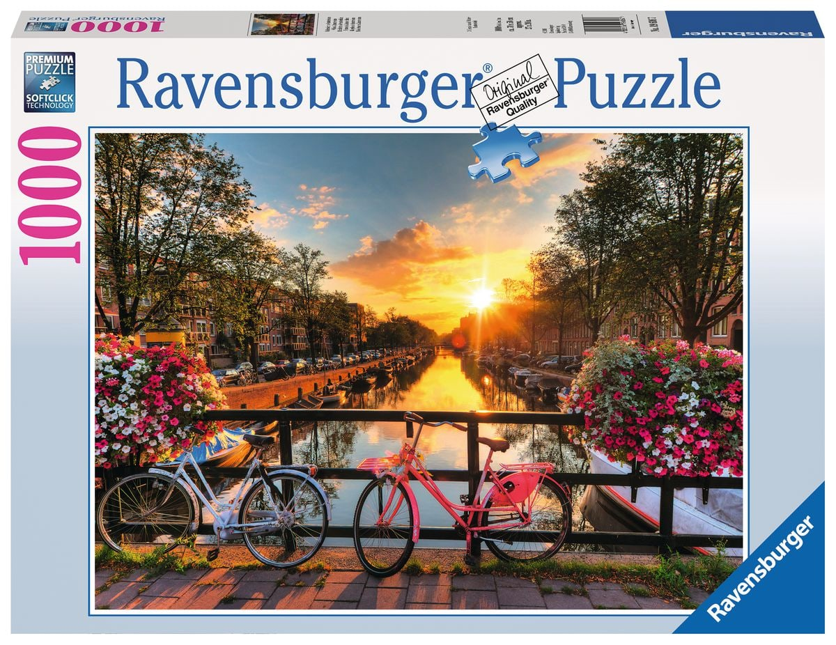 Ravensburger Fahrräder In Amsterdam Puzzle