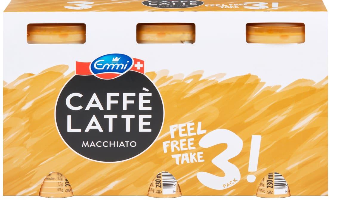 Alle Emmi Caffè Latte im 3er-Pack, 3er-Pack - Bei allen Angeboten sind M-Budget und bereits reduzierte Artikel ausgenommen.