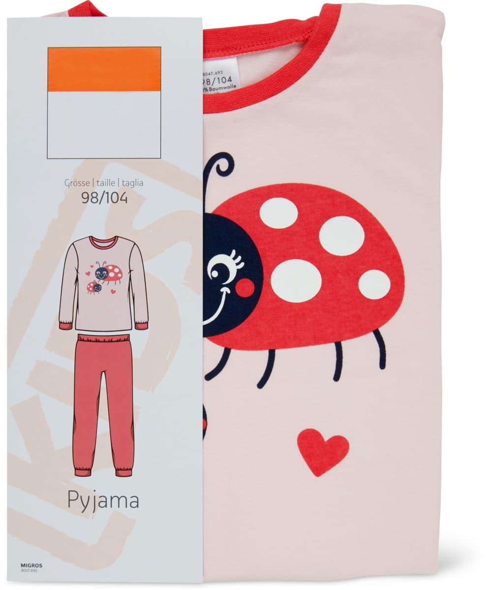 Mädchen-Pyjama rosa