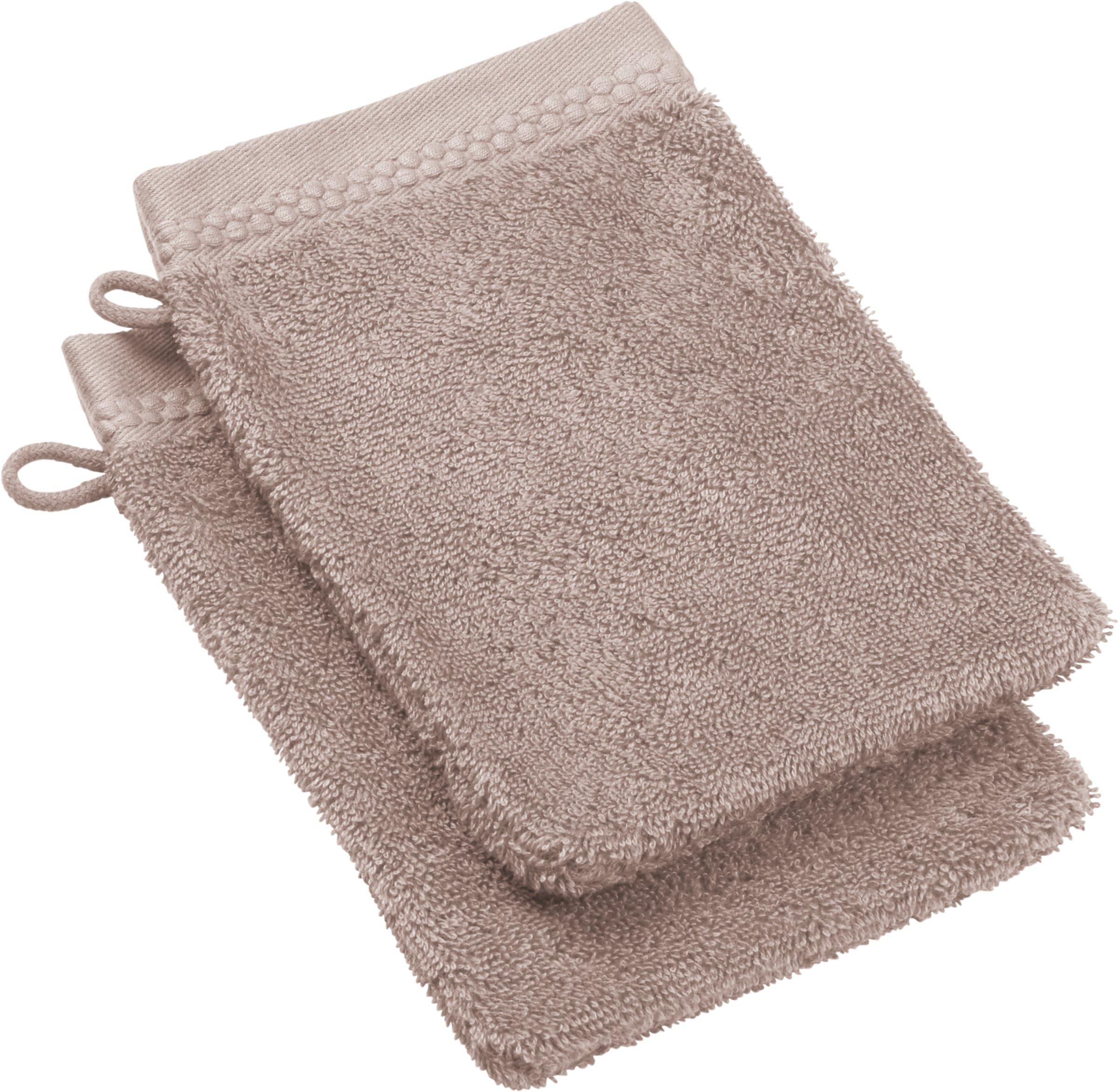 NATURAL FEELING Waschhandschuh 2-teilig