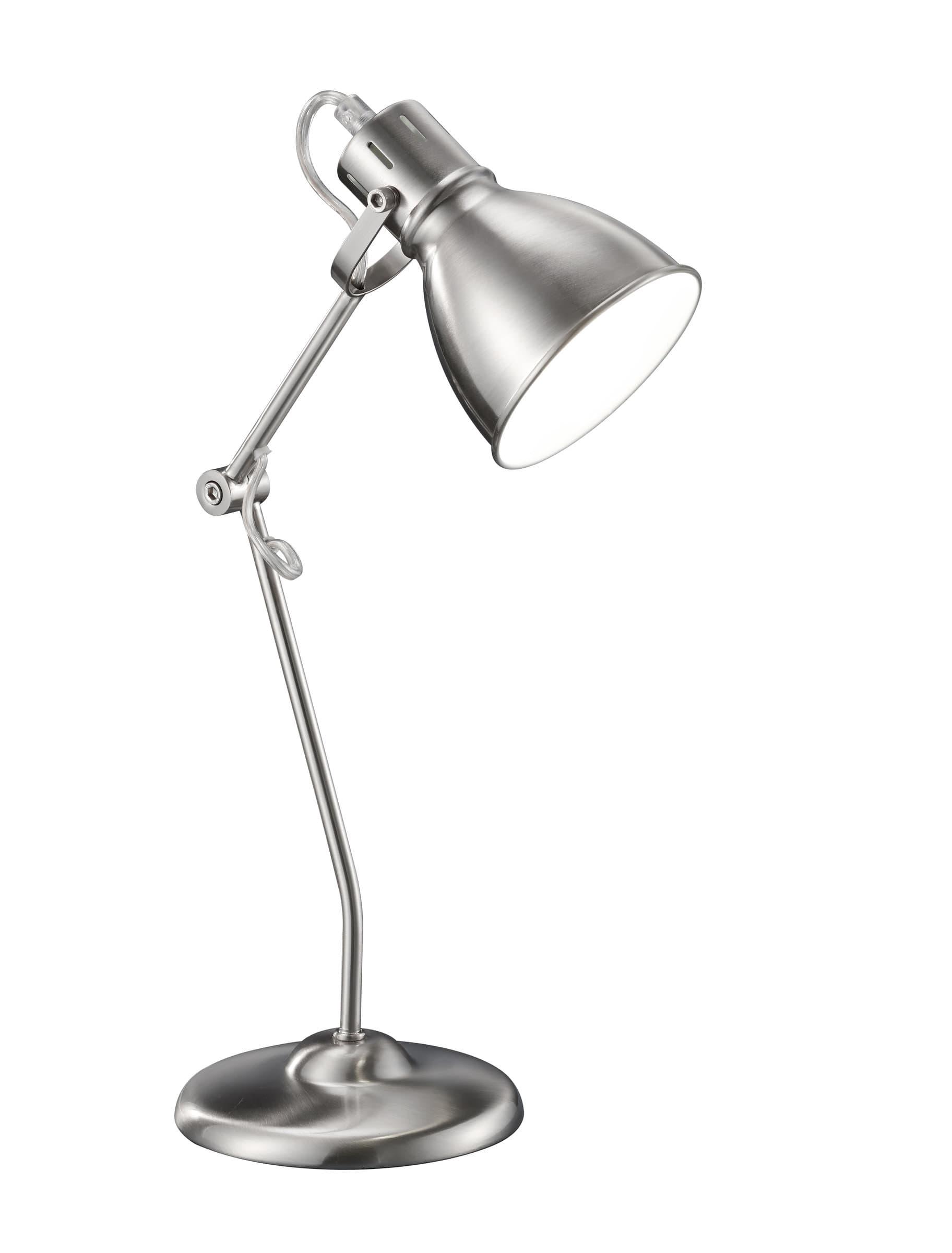 Lampe de table Jasper, nickel mat