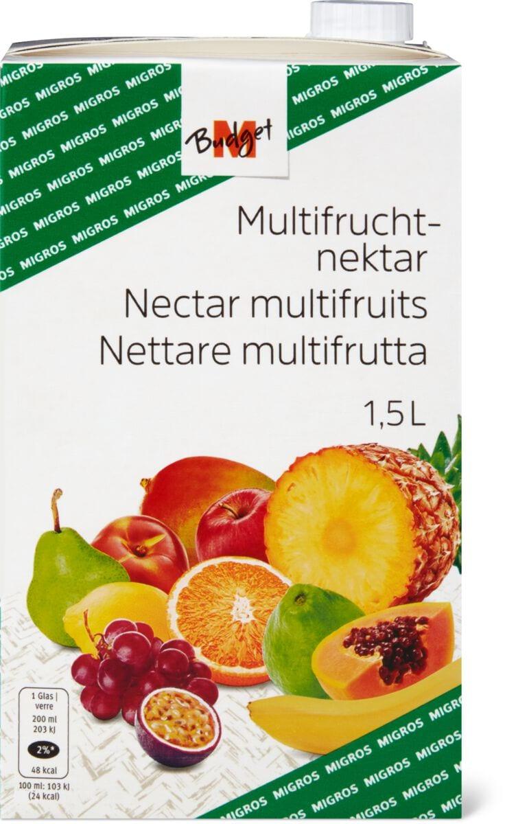 M-Budget Multifruchtnektar