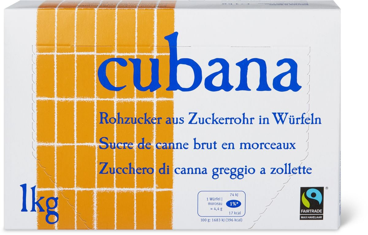 Sucre brut morceaux Max Havelaar