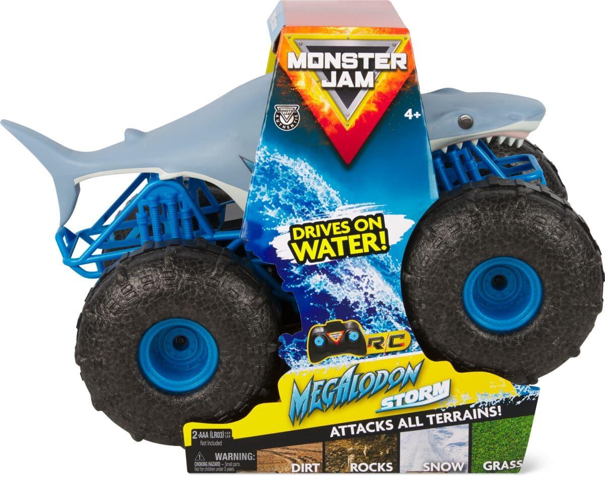 Spin Master Monster Jam Megalodon Storm Trasher Ferngesteuerte Spielwaren