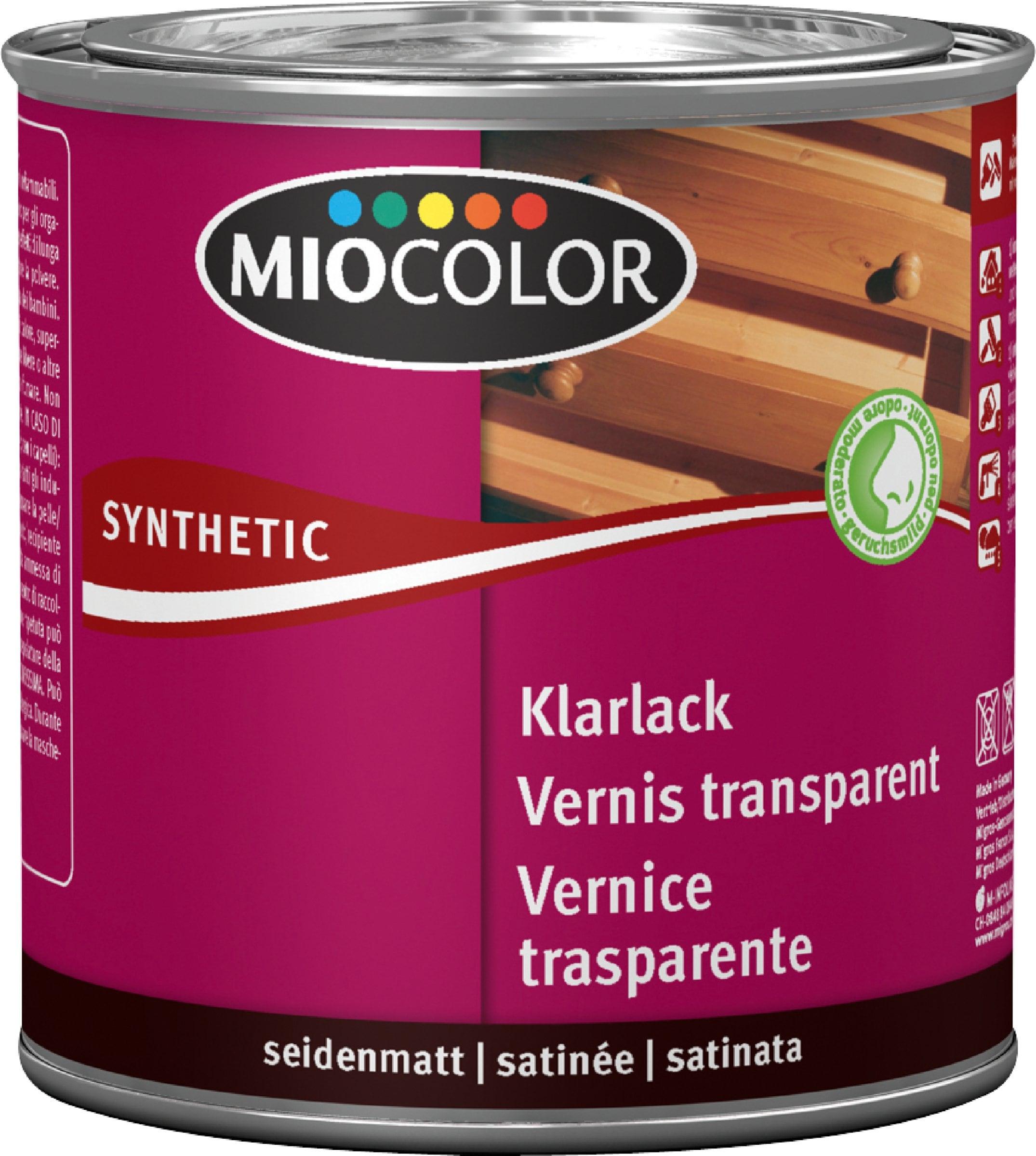 Pittura Resistente Ai Graffi miocolor vernice trasparente sintetica satinata incolore 375 ml