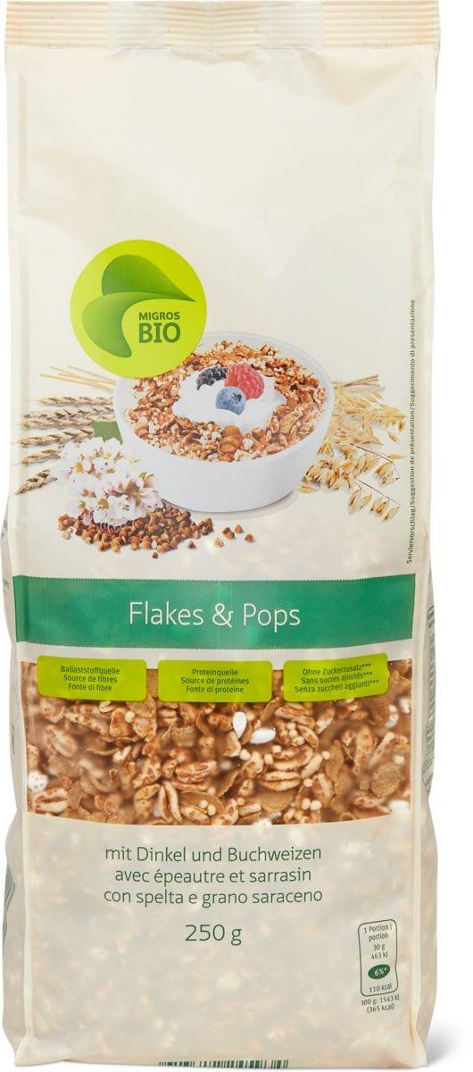Bio flakes & pops