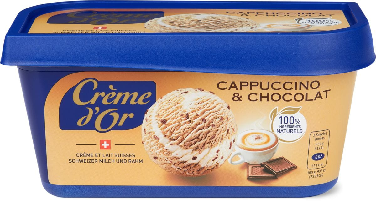 Crème d'or Cappuccino&Chocolate