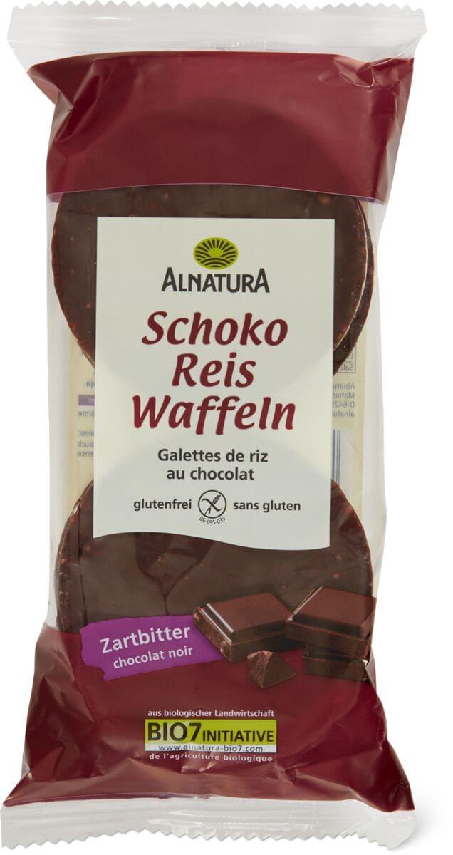 Alnatura Reiswaffeln Schoko Zartbitter