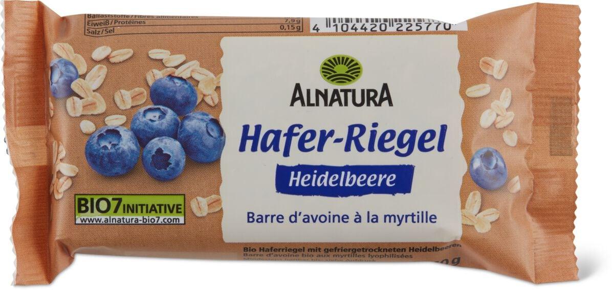 Alnatura Riegel Hafer Heidelbeere