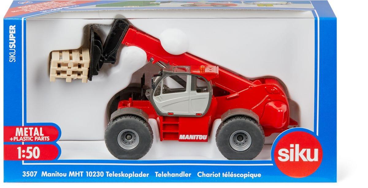 Siku Manitou Teleskoplader Modellfahrzeug