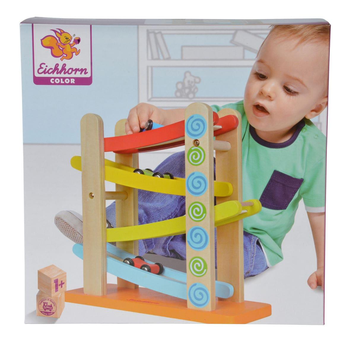 Eichhorn Color, Piste da corsa (FSC®) Set di giocattoli
