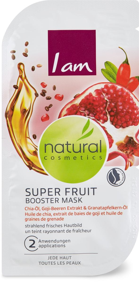 I am Natural Cosmetics Maske Super Fruit Booster Mask