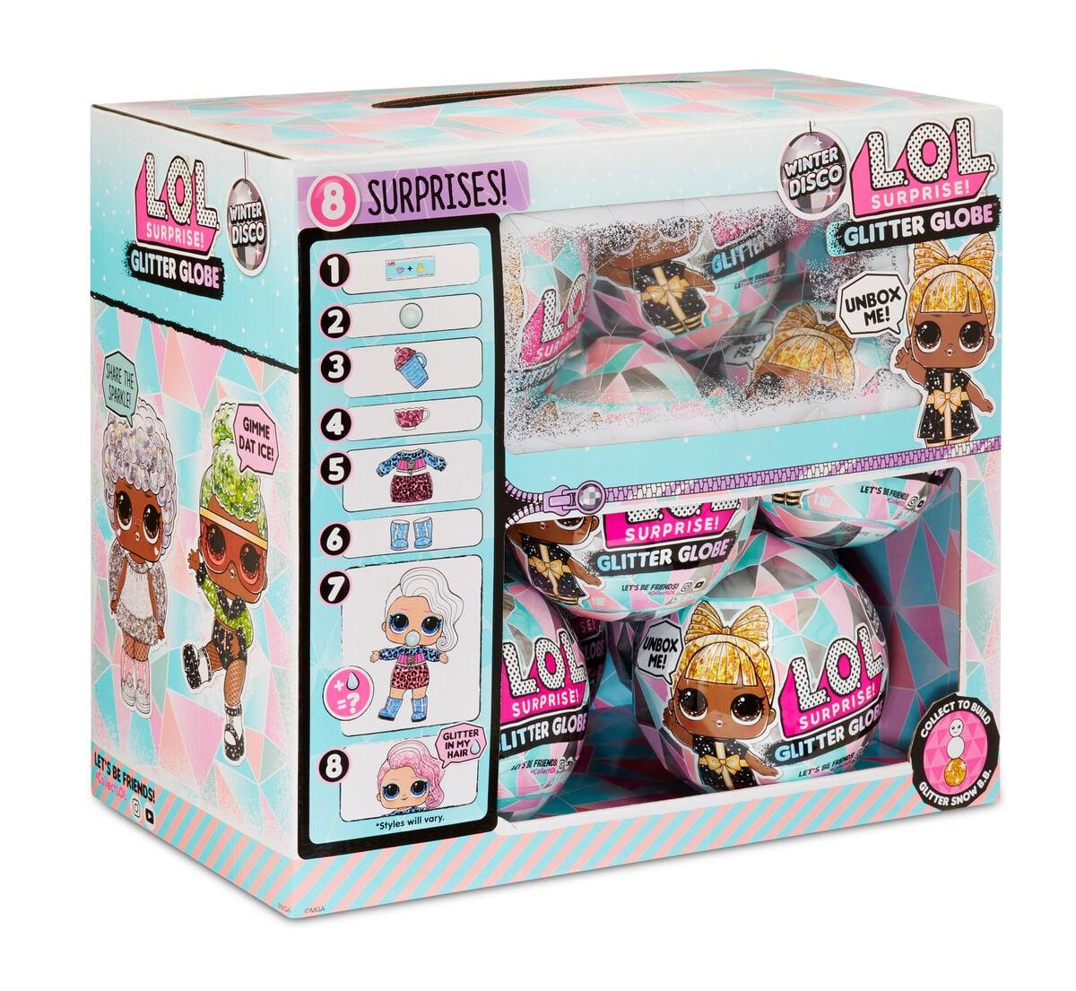 L.O.L. Surprise Glitter Globe Bambole