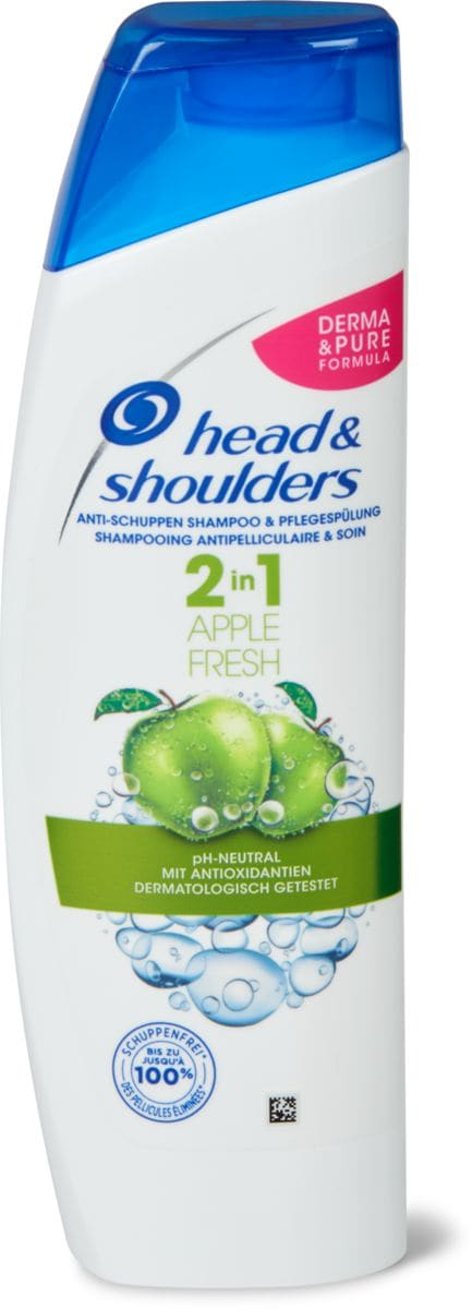 Head & Shoulders 2in1 Apple Fresh Shampoo
