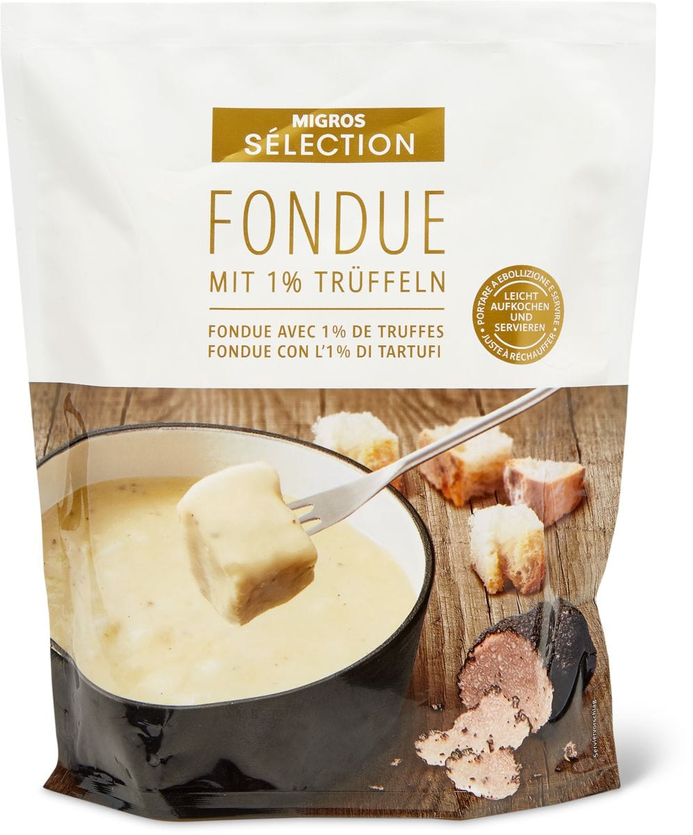 Sélection Fondue Tartufo