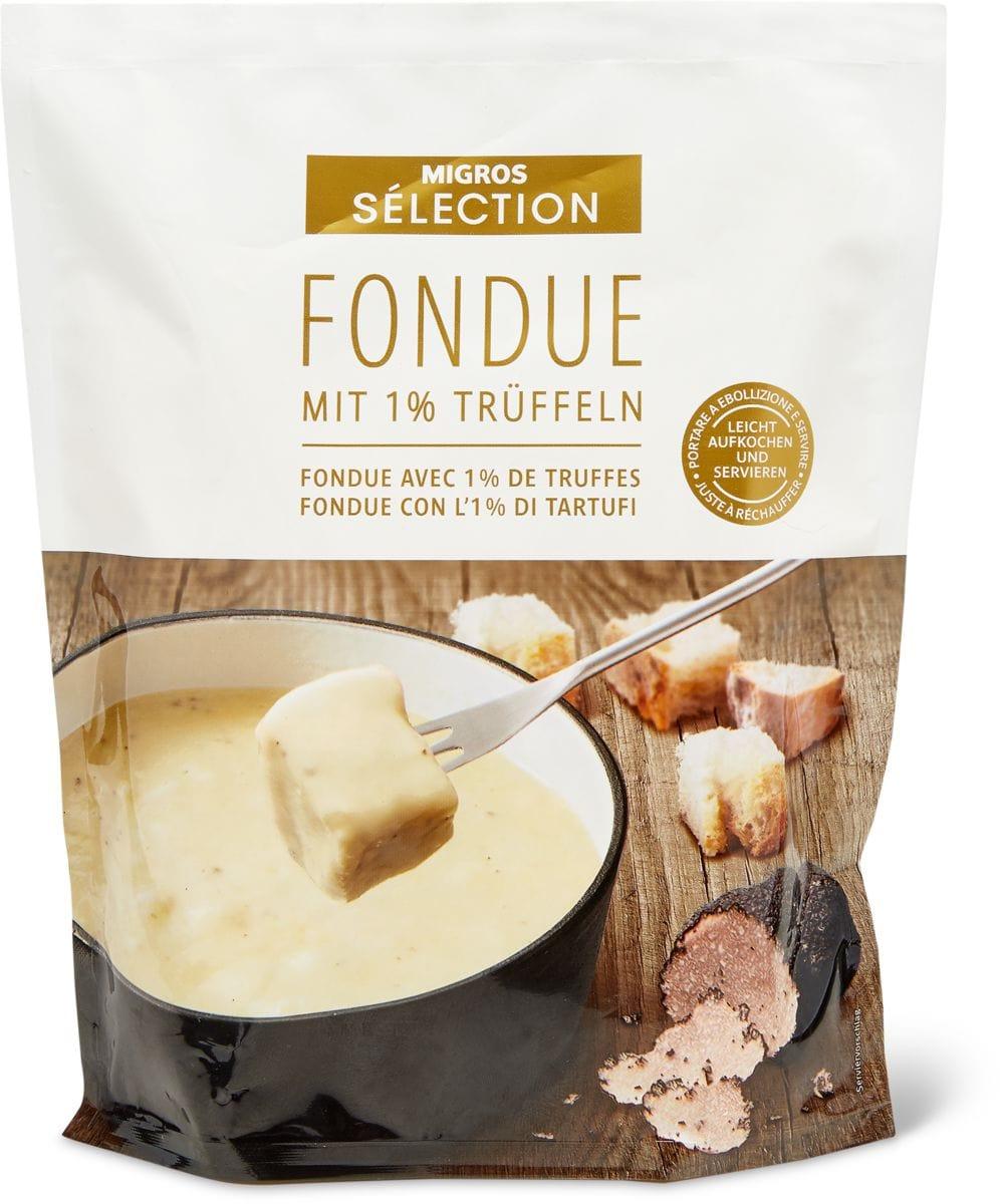 Sélection Fondue Trüffel